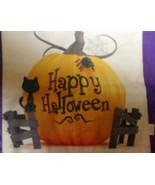 HOSL Halloween Pillow Covers set 4 zippered pumpkin cat little kid witch... - $29.77