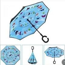 NWT brightman butterfky inverted small umbrella - $22.28
