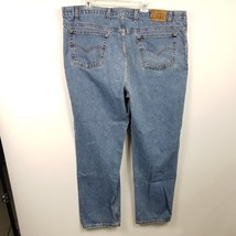 Levis 540 Mens VTG Jeans Sz 47x32.5 Relaxed Blue Denim Pants Stonewashed USA - $42.02