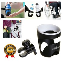 Cup Holder for Walkers Rollator Wheelchairs Universal Strong Clip Bevera... - $16.30