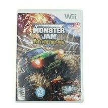 Nintendo Wii Monster Jam Path of Destruction Video Game (Complete, 2010) - $19.34
