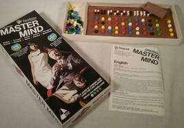 VINTAGE 1972 INVICTA PLASTICS LTD GAME MASTER MIND MADE IN ENGLAND - $25.73