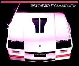 1983 Chevy Camaro Brochure, Z28, Berlinetta Original Xlnt - $5.02