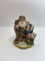SANTA'S of the NATIONS England Santa Claus Porcelain Figurine Statue - $14.75