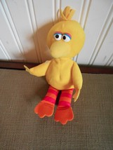 "APPLAUSE BEAN BAG BIG BIRD PLUSH 9"" TALL VGC CUTE SESAME STREET - $7.69"