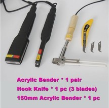 New Acrylic Bender Channel Letter Hot Bending Machine Arc/Angle Shape  B... - $84.16