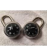 2 Master Lock 1500D Dial Combination Lock, 1-7/8-inch, Black - $8.91