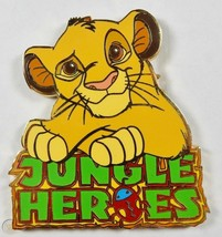Disney Lion King Simba Jungle Heroes Disneyland Resort Paris pin - $14.05