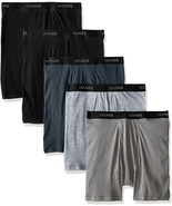 Hanes Men's 5-Pack Sports-Inspired Cool Dri Boxer Brief - $19.99+
