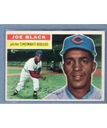 Vintage MLB 1956 TOPPS #178 JOE BLACK WHITE BACK (WB) VG-EX - $21.38