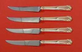 "George II by Watson Sterling Silver Steak Knife Set 4pc HHWS  Custom Made 8 1/2"" - $289.00"