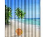 Wer curtains for bathroom decor modern shell waterproof bath curtain with 12 hooks thumb155 crop