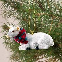 Conversation Concepts Goat White Original Ornament - $10.99