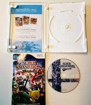 Super Smash Bros. Brawl (Wii, 2008) 100% Complete with Case, Disc, Instr... - $21.22