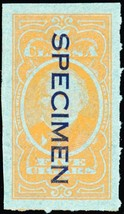 C52S, Cigar Tax Paid Specimen Stamp - Hard to Find! - Stuart Katz - $50.00