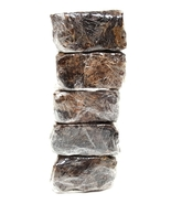5 lb ORGANIC AFRICAN GHANA BLACK SOAP Pure Raw 100% Natural Bulk AUTHENTIC - $39.95