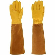 RXG Rose Pruning Gloves Long Sleeves for Men and Women Large, Yellow - $24.25