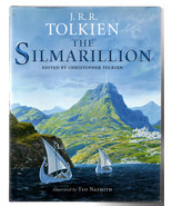 JRR Tolkein Simmarillion hardback book - $19.50