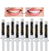 New Organic Fresh Mint Activated Charcoal Natural Teeth Whitening Gel -Usa Made  - $16.99