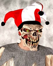 **Halloween**  Die Laughing Skull and Jester Hat  **Free Shipping** - £59.82 GBP