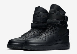 Nike SF AF1 Special Field Air Force One 1 Triple Black 864024-003 Sneaker - $149.99
