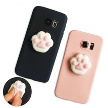 Lovely Squishy 3D Animals Cat Paw Soft phone Case Cover For All Samsung ... - $5.99