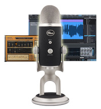 Blue Yeti Pro Studio Condenser Multipattern Microphone Home Recording Bu... - $269.99