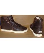UGG Australia BLANEY CRYSTAL Choc Brown Leather Sneakers Size US 6 NIB #... - $69.25
