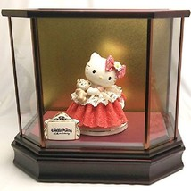 Hello Kitty 40th Pottery Lace Doll Cerarnic Ornament Figures Japan Stuffed Plush - $1,198.89