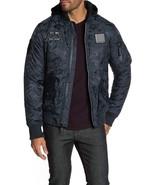 XRAY Hooded Nylon Jacket Navy Camo Men's Medium XMJ-87011 $128 - $34.65