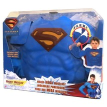SR Year 2006 DC Movie Series  Superman Return Foam Mighty Muscles Outfit... - $49.99