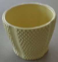 Pretty Lemon Yellow Planter Pot - Smaller Size - Great for Indoor Flower... - $16.82