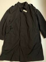 NEW DSCP Garrison Coll. Army Military Black Trench Coat Jacket Sz 44S - $32.42