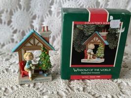 Hallmark Windows Of The World German 1989 Ornament - $9.69