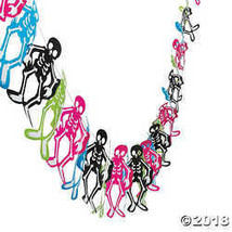 Colorful Skeleton Garland - $5.11