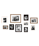 Kate and Laurel Bordeaux Gallery Wall Kit Set of 10 with Assorted Size F... - $98.99