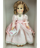 """Shirley Temple Doll 1982 10"""" Pink Dress Classic Doll Heart Ideal New In Box - $64.34"""