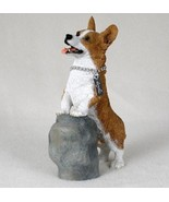 CORGI PEMBROKE  MY DOG Figurine Statue Pet Lovers Gift Hand Painted - $29.50