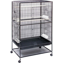 Prevue Pet  Small Bird Wrought Iron Flight Cage 31x20x52 In 048081000403 - £163.96 GBP