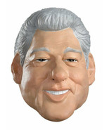 WILLIAM BILL CLINTON 42ND U.S PRESIDENT MASK ADULT HALLOWEEN COSTUME ACCESSORY - $27.00