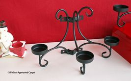 CRATE & BARREL IRON VOTIVE SCONCES (2) -NEW- DRIVE SOME STYLE RIGHT UP THE WALL! image 7