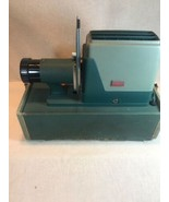 Vintage Argus 300 Slide Projector w/ Case  4 inch Projection Anastigmat ... - $21.38
