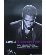 MAXWELL POSTER, BLACK SUMMERS' NIGHT (L14) - $8.59