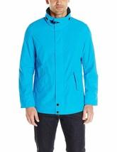 7243-2 Nautica Men's Concealed Hood Parka Jacket, Star Turquoise, Medium... - $32.33