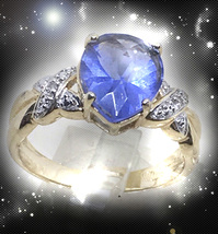 HAUNTED RING MASTER'S SOARING COMET RITE GAIN SICCESS POWERS OOAK MAGICK  - $8,997.77