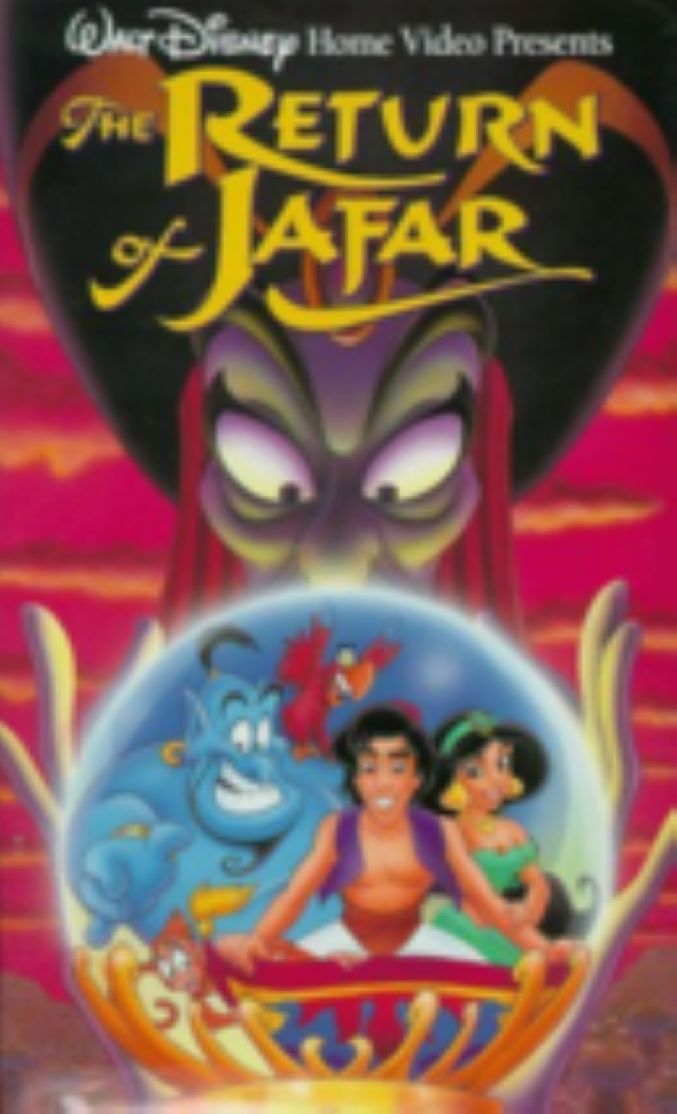 The Return of Jafar Vhs