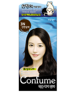 CONFUME SQUID INK NATURAL HAIR COLOR DYE - 3N DARK BROWN (NO AMMONIA) - $15.99