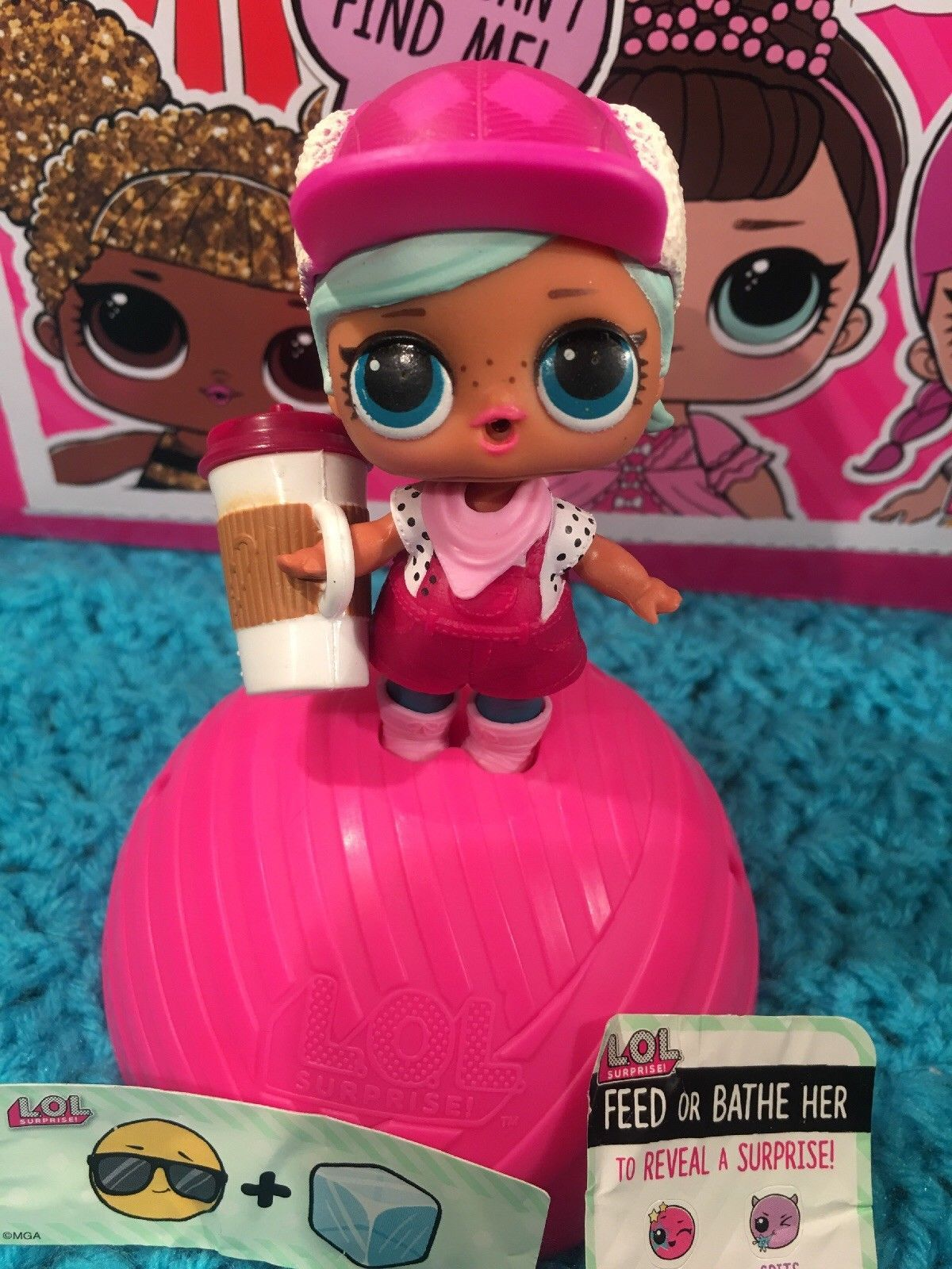 RARE HTF LOL Surprise Doll Retired Series 2 Brr Baby
