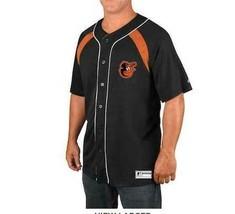 New Mens Majestic Baltimore Orioles Mlb Baseball Train The Body Jersey Size S - $33.33