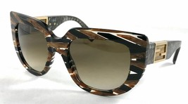 FENDI Women's Baguette Oversized Rotating Logo Plaque Sunglasses FF0031/S - $79.15